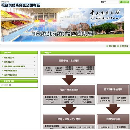 成果專區-校務與財務資訊公開專區
